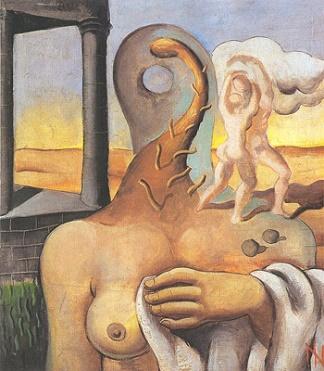 Desejo de amor (1932), obra de Ismael Nery.