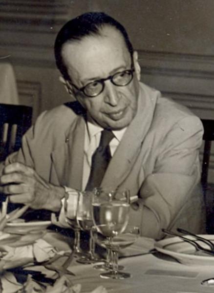 Manuel Bandeira, uma das grandes vozes líricas do modernismo brasileiro.