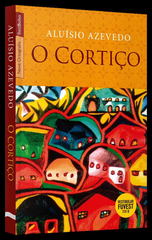 "Capa do livro ""O cortiço"", de Aluísio Azevedo, publicado pela editora BestBolso, do grupo editorial Record. [2]"