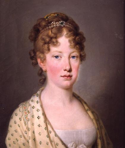 D. Maria Leopoldina foi esposa de d. Pedro I de 1817 a 1826. Foi de grande influência na declaração da independência e teve um casamento infeliz.[1]