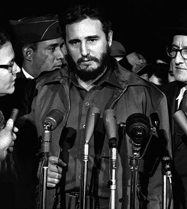 Fidel Castro foi o principal líder da Revolução Cubana de 1959.