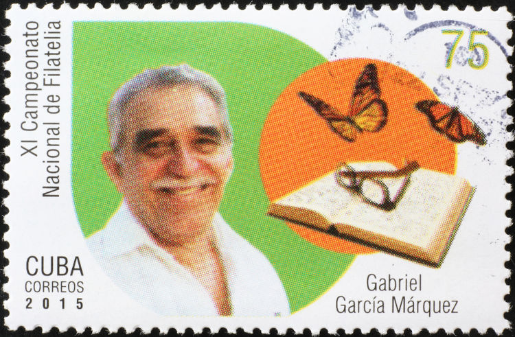 O escritor colombiano Gabriel García Marquez foi o ganhador do Nobel de Literatura em 1982.[2]
