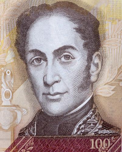 Simón Bolívar nasceu em uma família da aristocracia venezuelana e tornou-se um dos grandes revolucionários da América do Sul.