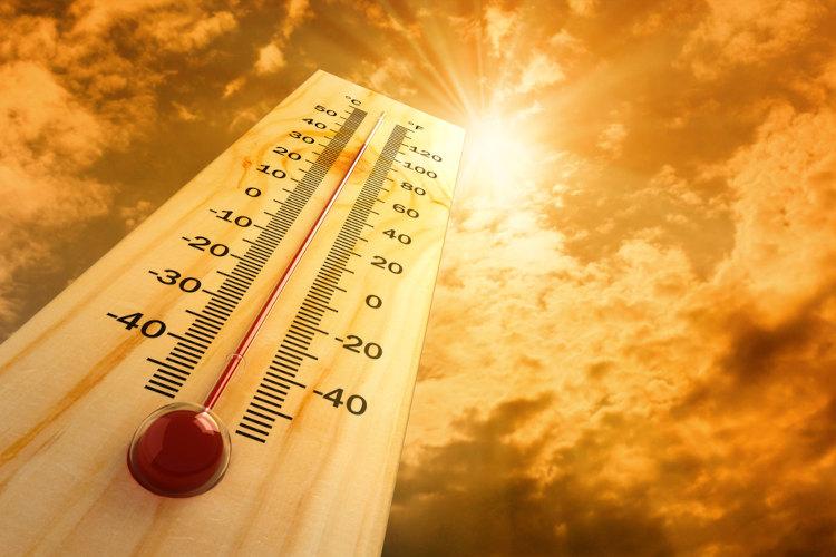 Temperaturas elevadas podem desencadear a hipertermia.