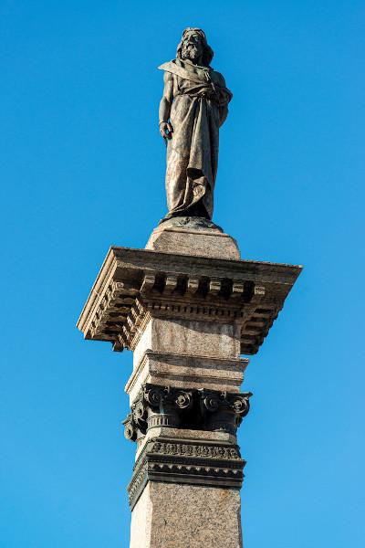 Tiradentes, mártir da inconfidência mineira, foi poetizado na obra de Cecília Meireles. [1]
