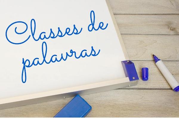As classes de palavras consistem em agrupamentos dos vocábulos da língua que levam em conta suas funções e sua formação.