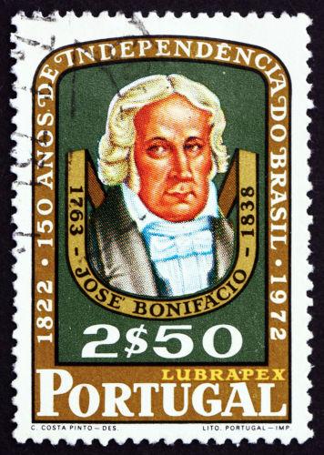 José Bonifácio de Andrada e Silva foi um dos grandes conselheiros de d. Pedro e ficou conhecido como patrono da independência.[2]