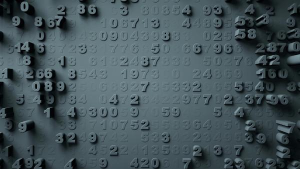 Os números naturais surgiram para atender à necessidade humana de contar.
