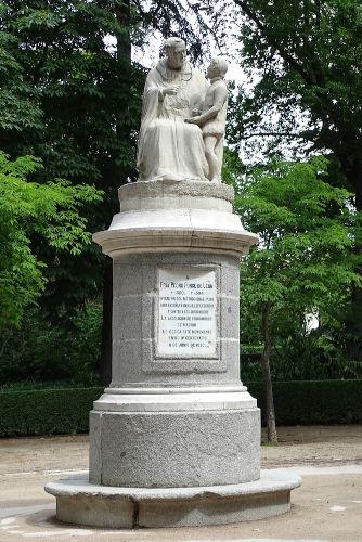 O monge espanhol Pedro Ponce de León é considerado um dos pioneiros na educação de surdos no mundo.[1]