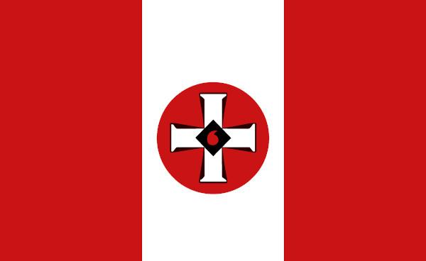 O símbolo da cruz foi utilizado pelos membros da Ku Klux Klan a partir da segunda fase do grupo, quando ele queimava cruzes como forma de intimidação.
