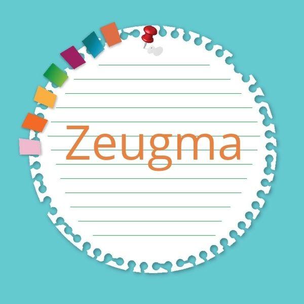 Para que haja zeugma, é necessário que o termo omitido já tenha sido mencionado no enunciado.