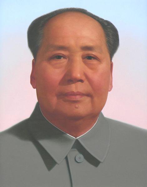 Mao Tsé-Tung foi o fundador da República Popular da China. [1]