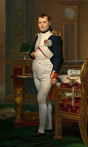 Napoleão Bonaparte foi imperador da França entre os anos de 1804 até 1815.