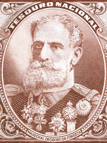 Com a derrubada da monarquia, o marechal Deodoro da Fonseca foi nomeado presidente provisório do Brasil.