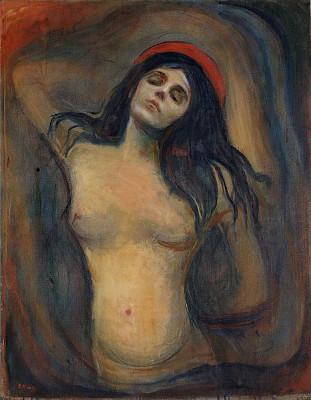"""Imagem 4: """"Madonna"""", de Edvard Munch"""