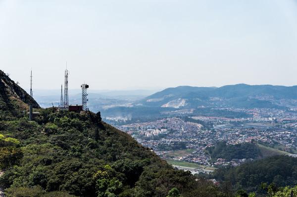 A cidade de São Paulo possui vários remanescentes de Mata Atlântica, como os situados ao redor do Pico do Jaraguá. [1]