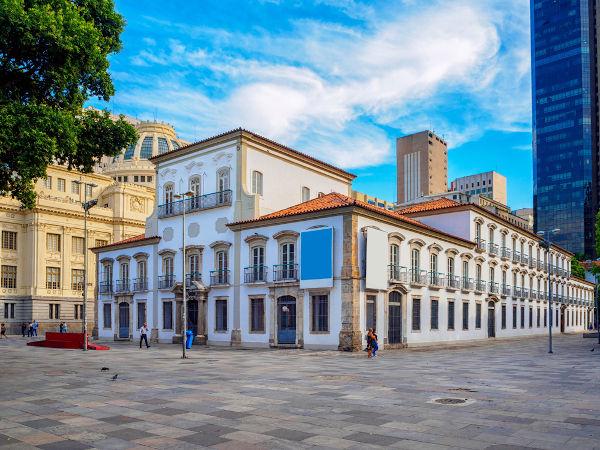 Paço Real, onde d. Pedro anunciou sua permanência no Brasil, em 9 de janeiro de 1822.