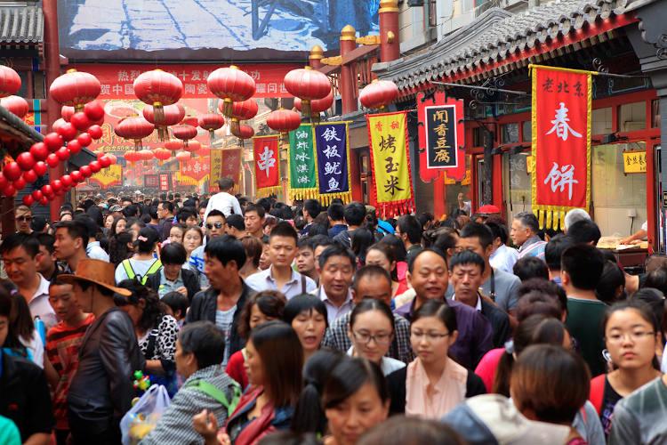A China é o país mais populoso do mundo. A sua população absoluta é de aproximadamente 1,4 bilhão de habitantes.