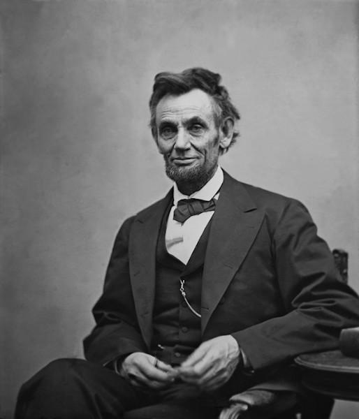 Abraham Lincoln foi o 16º presidente dos Estados Unidos e o primeiro eleito pelo Partido Republicano.