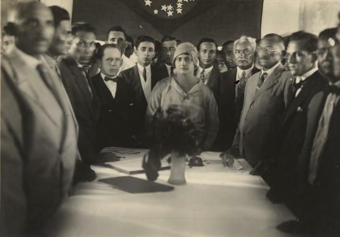 Alzira Soriano foi a primeira mulher prefeita de uma cidade, sendo eleita em 1928.
