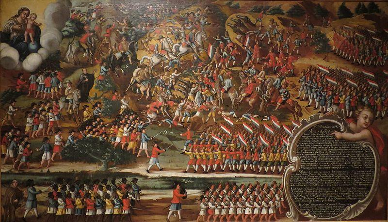 A Batalha dos Guararapes envolveu colonos contra holandeses e foi determinante para a expulsão dos invasores.