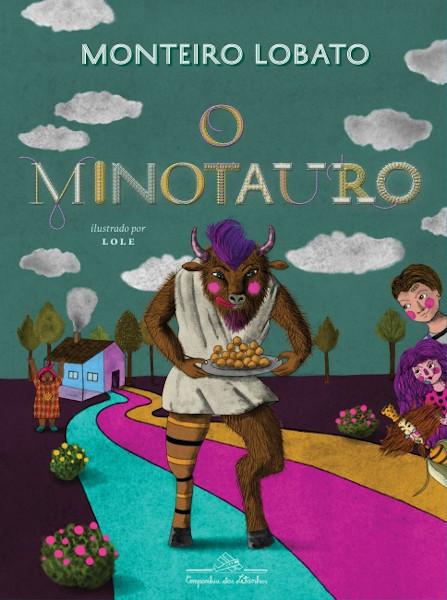 Capa do livro O Minotauro, de Monteiro Lobato, publicado pela editora Companhia das Letras. [1]