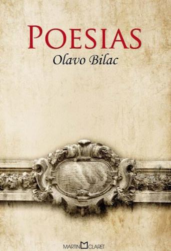 """Capa do livro """"Poesias"""", de Olavo Bilac, publicado pela editora Martin Claret.[1]"""
