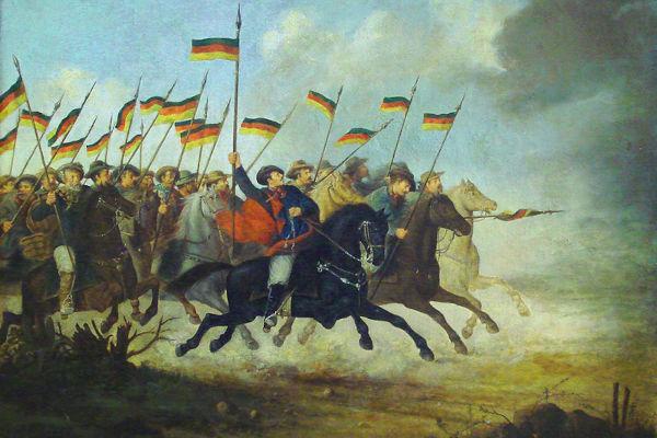 Os farrapos sustentaram bem a guerra até o ano de 1839, entrando em decadência a partir de então.[1]