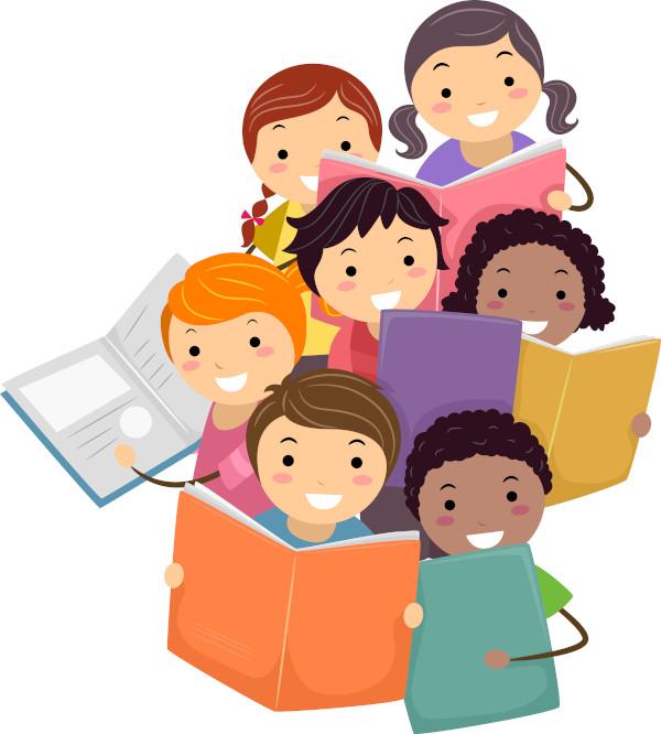 Antes de aprender a ler, as crianças são apresentadas à literatura infantil por adultos que leem para elas.