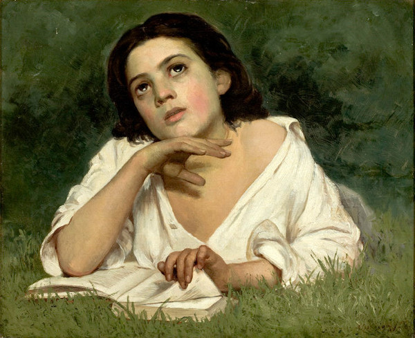 As mulheres eram o público-alvo dos romances românticos, como demonstra a obra, de Almeida Júnior (1850-1899).Moça com livro