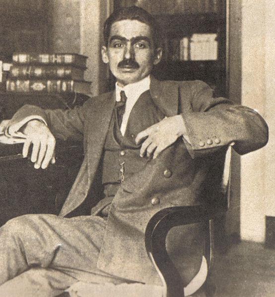 O escritor Monteiro Lobato.