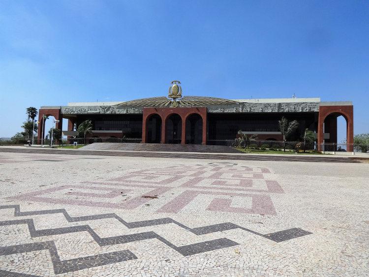 Palácio Araguaia, sede do governo estadual.