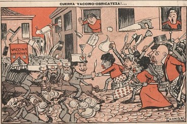 Oswaldo Cruz foi alvo de críticas da imprensa, principalmente durante a Revolta da Vacina, em 1904.