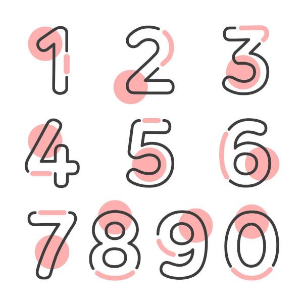 Nosso sistema de numeração decimal é composto por dez símbolos.