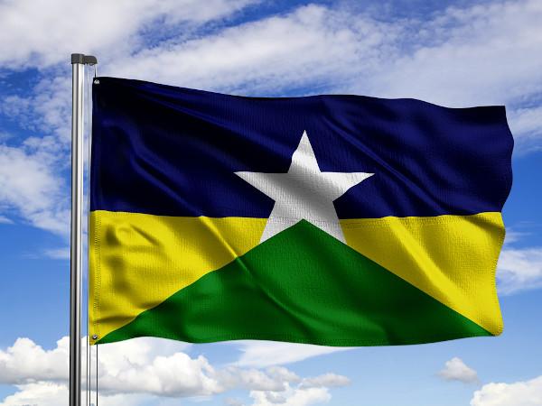 Bandeira de Rondônia.