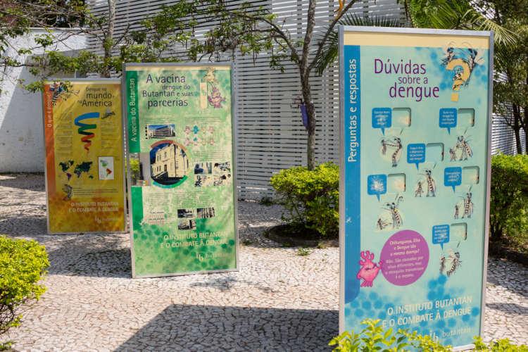 O Butantan apresenta uma série de atrações que aproximam a população do conhecimento científico.