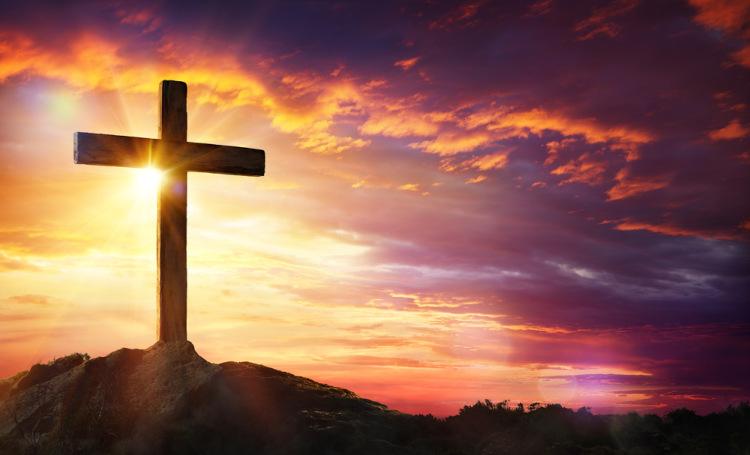 A Cruz de Cristo representa a vitória sobre a morte, a sua ressurreição.