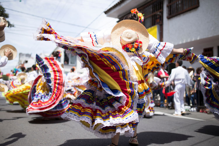 Carnaval colombiano.