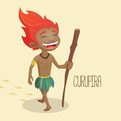 No folclore brasileiro, o curupira é conhecido como o ser guardião da floresta.