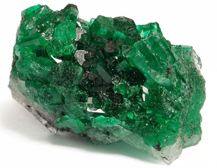 Esmeralda, variedade do mineral berilo.