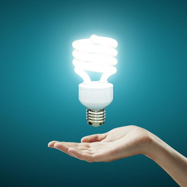 O berílio está presente na composição dos tubos das lâmpadas fluorescentes.