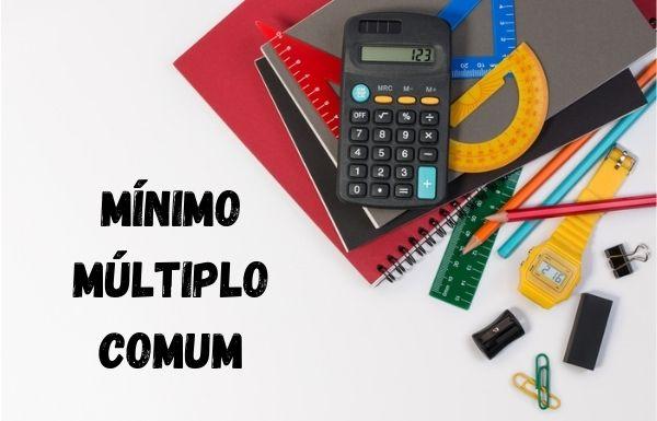 O MMC é o mínimo múltiplo comum entre dois ou mais números.