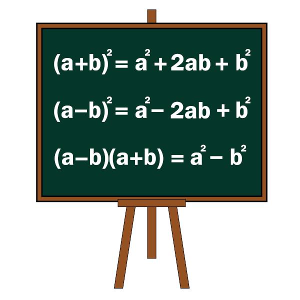 Produtos notáveis são utilizados para facilitar o cálculo de multiplicação de alguns polinômios.