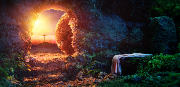 Para os cristãos, a prova da ressurreição de Jesus Cristo é o seu sepulcro estar vazio, ou seja, a sua Páscoa, a sua passagem da morte para a vida.