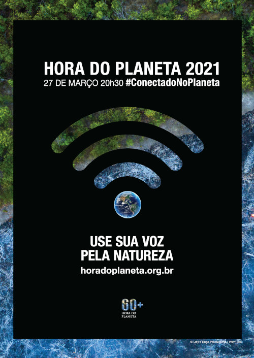 No dia 27 de março, apague suas luzes e mostre que você se importa com o futuro do planeta.