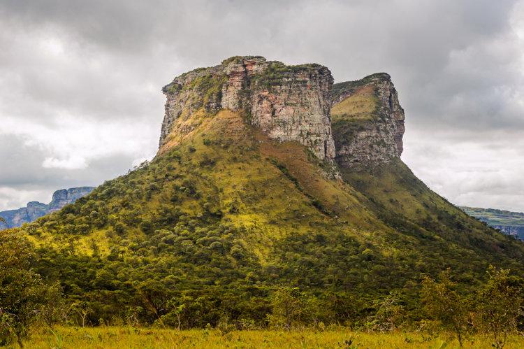Morro do Pai Inácio, chapada Diamantina, Bahia.