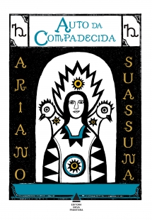 Capa do livro Auto da Compadecida, de Ariano Suassuna, publicado pela Nova Fronteira. [1]