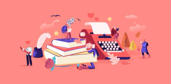 No dia 23 de abril, celebramos os livros e seus autores.