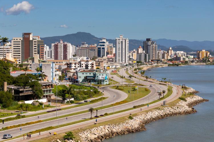 Florianópolis, capital de Santa Catarina.