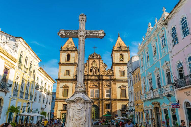 Cruz no Pelourinho, Salvador, Bahia. [2]